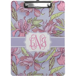Orchids Clipboard (Personalized)