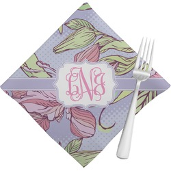 Orchids Napkins (Set of 4) (Personalized)