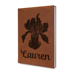 Orchids Leatherette Journal (Personalized)