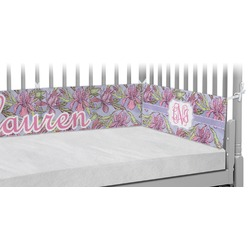 Orchids Crib Bumper Pads (Personalized)
