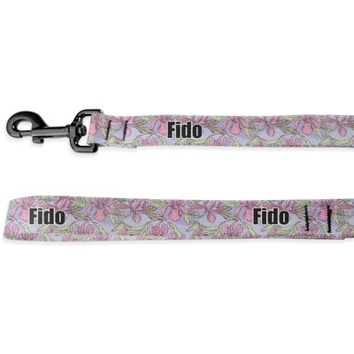 Orchids Deluxe Dog Leash (Personalized)