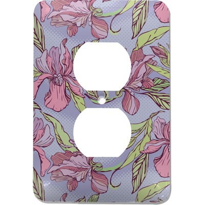 Orchids Electric Outlet Plate (Personalized)