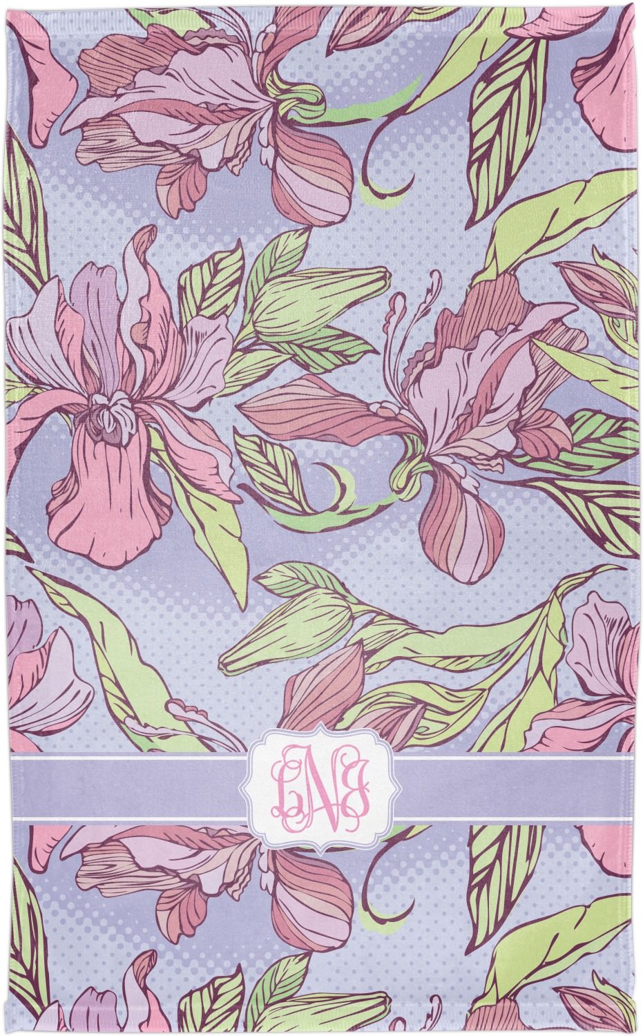 Orchids Finger Tip Towel