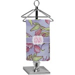 Orchids Finger Tip Towel - Full Print (Personalized)