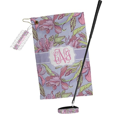Orchids Golf Towel Gift Set (Personalized)