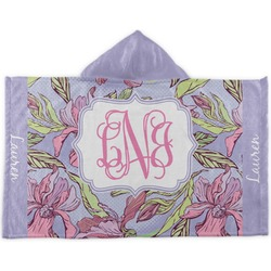 Orchids Kids Hooded Towel (Personalized)