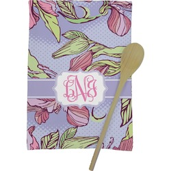 Orchids Kitchen Towel - Full Print (Personalized)