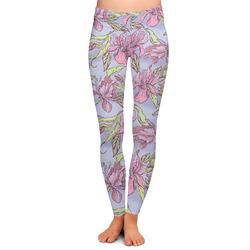 Orchids Ladies Leggings (Personalized)