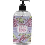 Orchids Plastic Soap / Lotion Dispenser (Personalized)