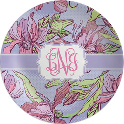 Orchids Melamine Plate (Personalized)