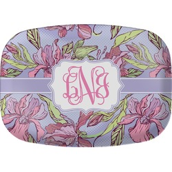 Orchids Melamine Platter (Personalized)