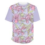 Orchids Men's Crew T-Shirt (Personalized)
