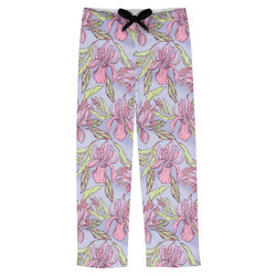 Orchids Mens Pajama Pants (Personalized)