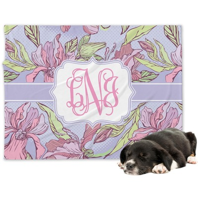 Orchids Dog Blanket (Personalized)
