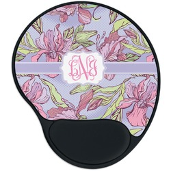 Orchids Mouse Pad with Wrist Support