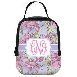 Orchids Neoprene Lunch Tote (Personalized)