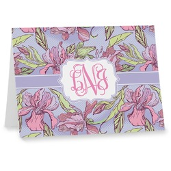 Orchids Notecards (Personalized)