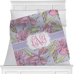 Orchids Minky Blanket (Personalized)
