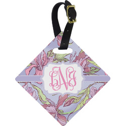Orchids Diamond Luggage Tag (Personalized)