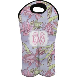 Orchids Wine Tote Bag (2 Bottles) (Personalized)
