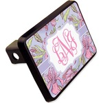 """Orchids Rectangular Trailer Hitch Cover - 2"""" (Personalized)"""