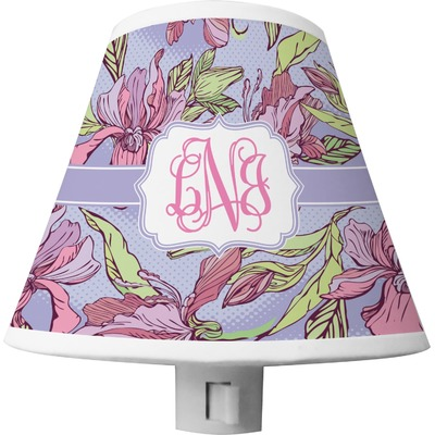 Orchids Shade Night Light (Personalized)