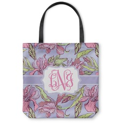 Orchids Canvas Tote Bag (Personalized)