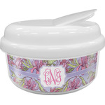 Orchids Snack Container (Personalized)