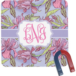 Orchids Square Fridge Magnet (Personalized)