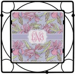 Orchids Square Trivet (Personalized)