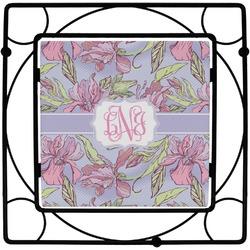 Orchids Square Trivet (Personalized)