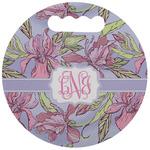 Orchids Stadium Cushion (Round) (Personalized)