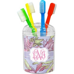 Orchids Toothbrush Holder (Personalized)