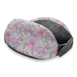 Orchids Travel Neck Pillow (Personalized)