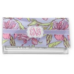 Orchids Vinyl Checkbook Cover (Personalized)