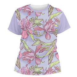 Orchids Women's Crew T-Shirt (Personalized)