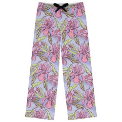 Orchids Womens Pajama Pants - XL (Personalized)