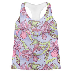 Orchids Womens Racerback Tank Top (Personalized)