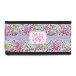 Orchids Leatherette Ladies Wallet (Personalized)