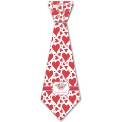 Cute Raccoon Couple Iron On Tie (Personalized)