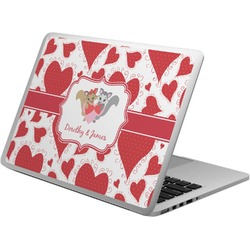 Cute Raccoon Couple Laptop Skin - Custom Sized (Personalized)