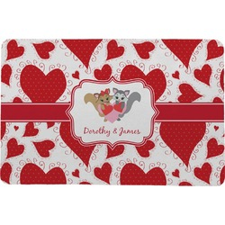 Cute Raccoon Couple Comfort Mat (Personalized)
