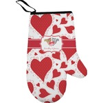 Cute Squirrel Couple Oven Mitt (Personalized)