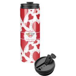 Cute Raccoon Couple Stainless Steel Tumbler (Personalized)