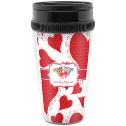 Cute Squirrel Couple Travel Mugs (Personalized)