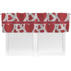 Cute Squirrel Couple Valance (Personalized)
