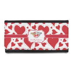 Cute Squirrel Couple Leatherette Ladies Wallet (Personalized)