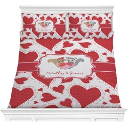 Cute Squirrel Couple Comforters (Personalized)