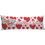 Cute Raccoon Couple Body Pillow Case (Personalized)
