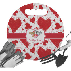 Cute Raccoon Couple Gardening Knee Cushion (Personalized)